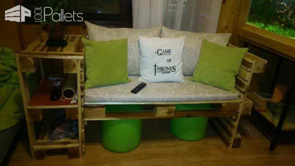 Pallet Couch Pallet Benches, Pallet Chairs & Pallet Stools