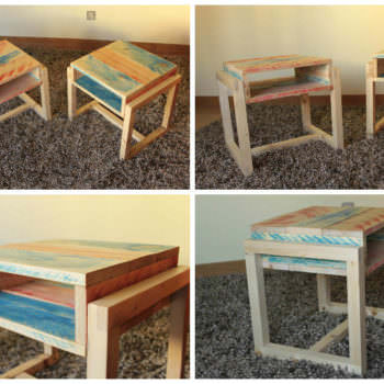 Pallet Night Stands