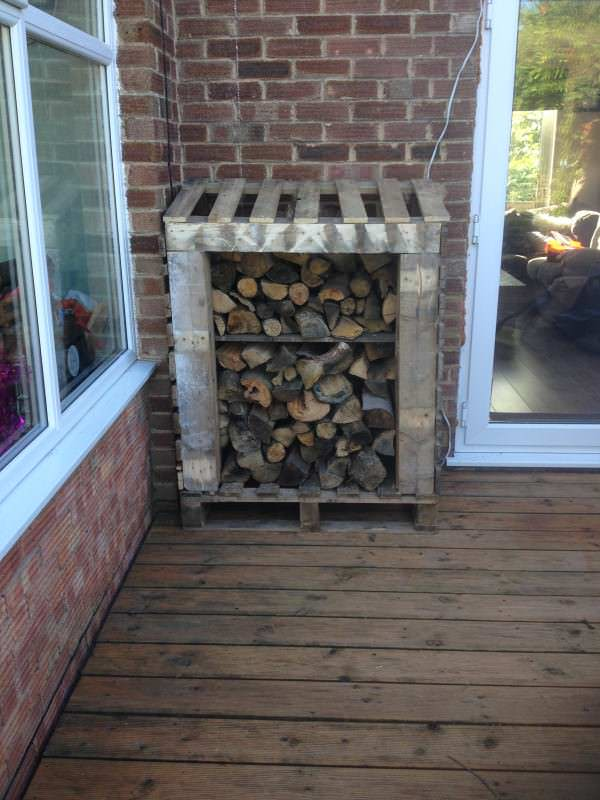 Log Shed Made Out Of Pallets Pallet Sheds, Pallet Cabins, Pallet Huts & Pallet Playhouses
