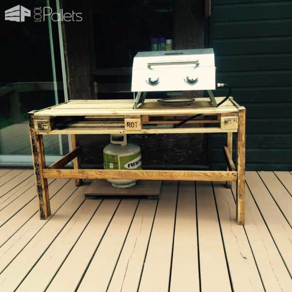 Bbq Outdoor Table 1001 Pallets