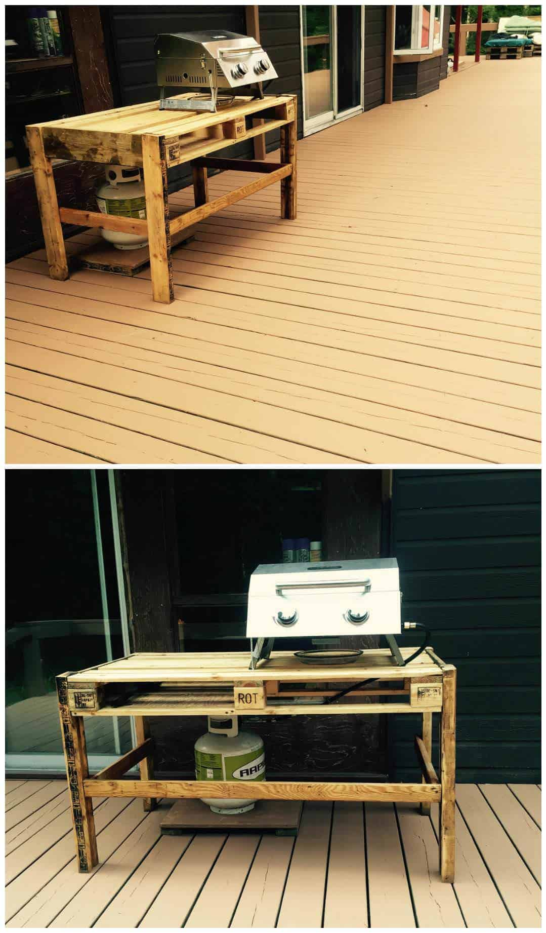 Bbq Outdoor Table • 1001 Pallets
