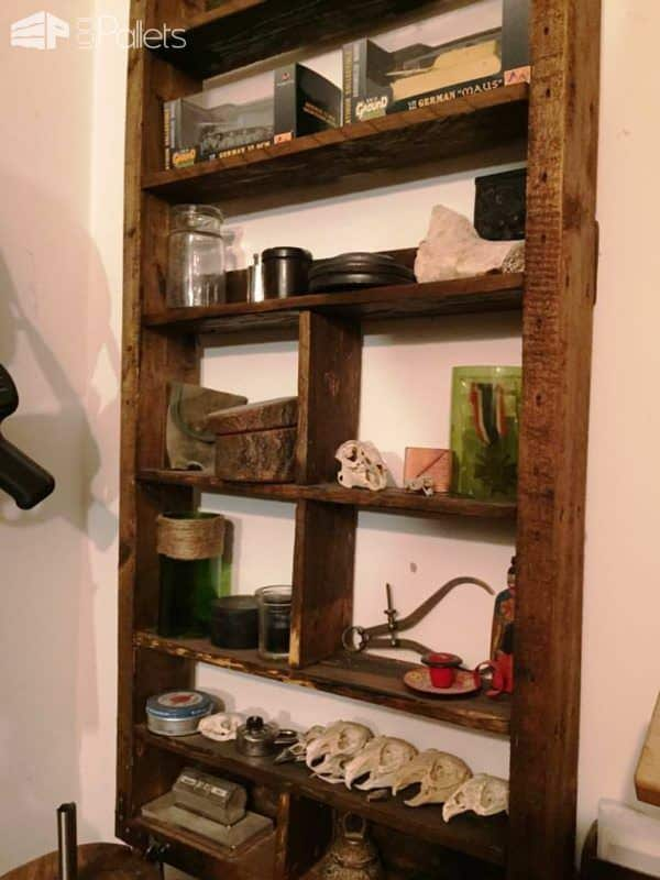 Bloxham Roughwoods Creations Pallet Shelves & Pallet Coat Hangers