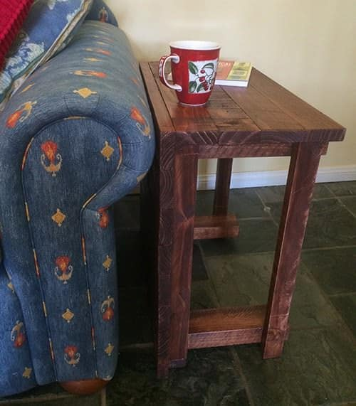 rustic-side-table