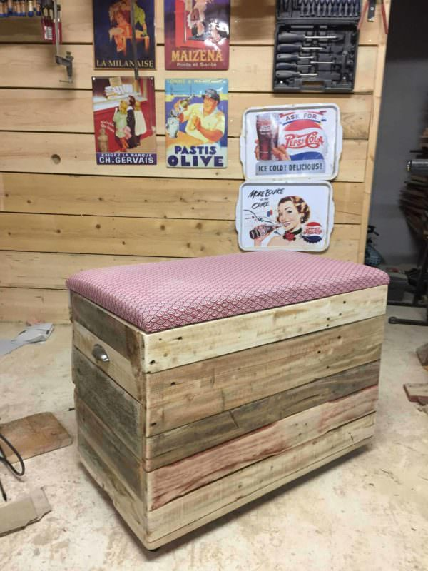 Coffre En Palette / Pallet Chest