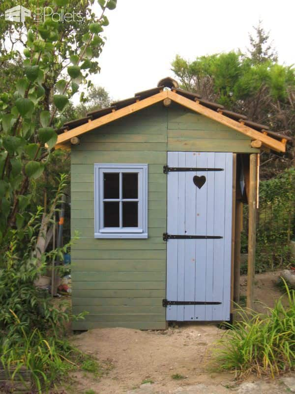 My Pallet Garden Hut Pallet Sheds, Pallet Cabins, Pallet Huts & Pallet Playhouses