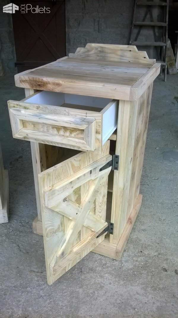 Pallet Bedside Tables Pallet Desks & Pallet Tables