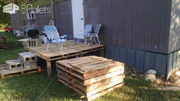 Pallet Porch Pallet Terraces & Pallet Patios
