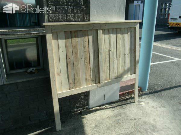 Pallet Queen Size Bed DIY Pallet Beds, Pallet Bed Frames & Pallet Headboards