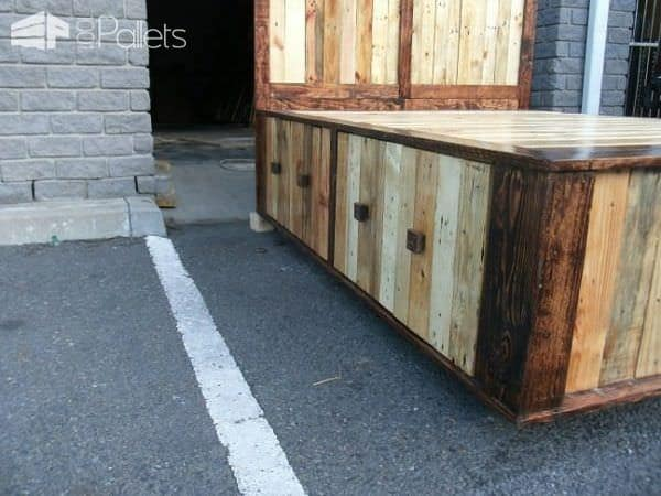 Pallet Queen Size Bed Pallet Beds, Pallet Headboards & Frames