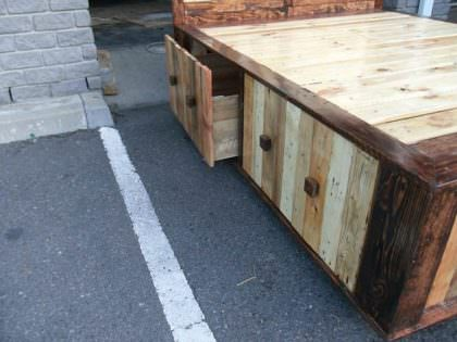Pallet Queen Size Bed • 1001 Pallets