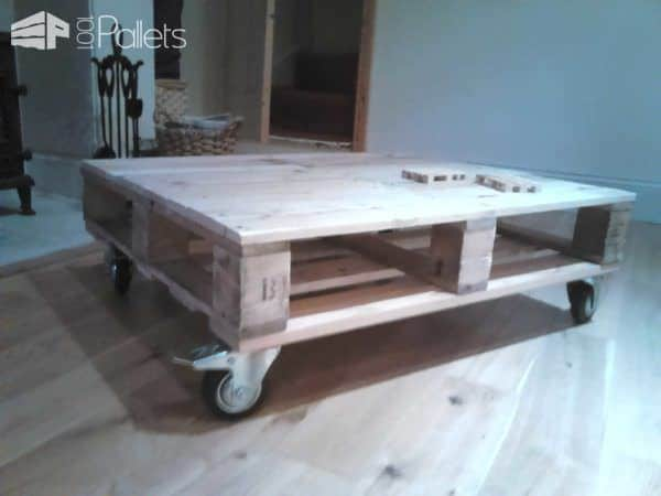 Pallet Table Rehash Pallet Coffee Tables