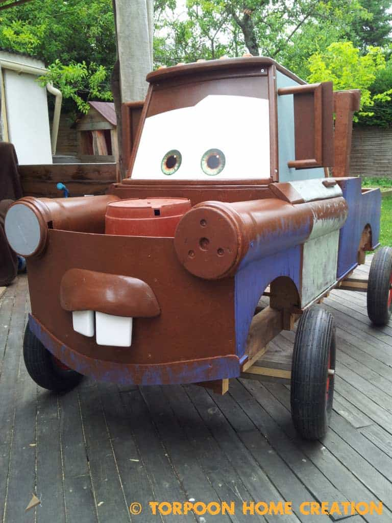 how to make a wooden soap box car