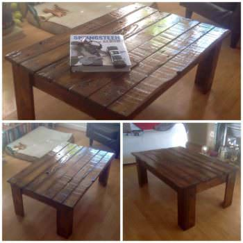 Upcycled Pallet Wood Into Table