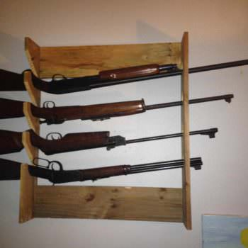Simple Gun Rack