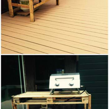 BBQ Outdoor Table