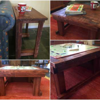 Coffee Table Side Table Combo