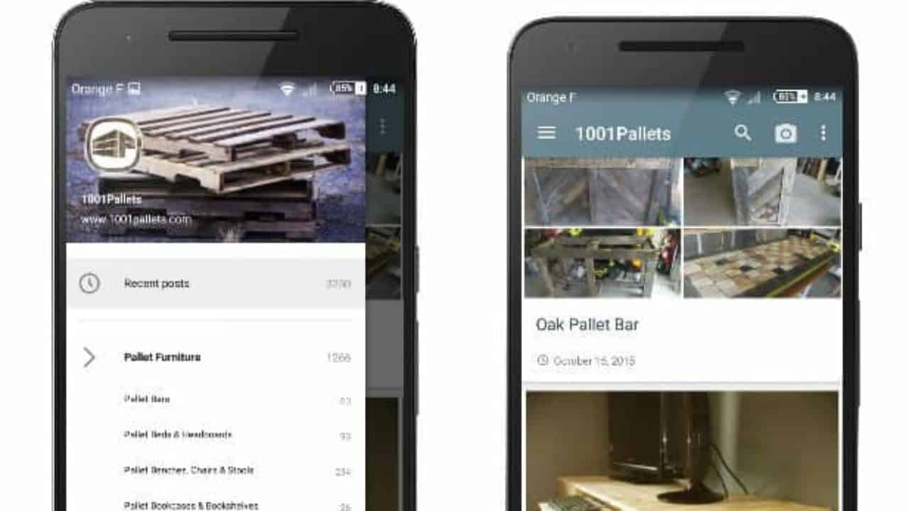 1001pallets Android App Is Available • 1001 Pallets