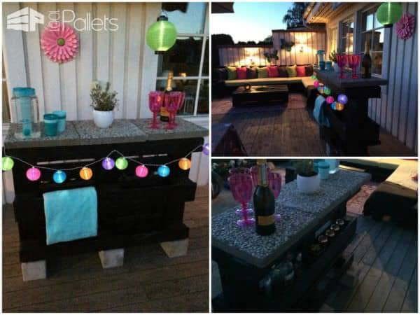35 Awesome Wooden Pallet Bars15