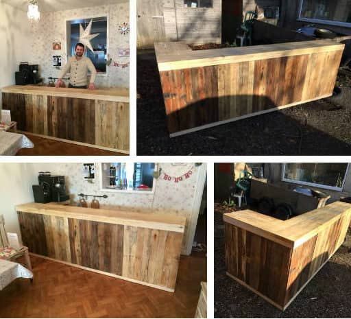 35 Awesome Wooden Pallet Bars20