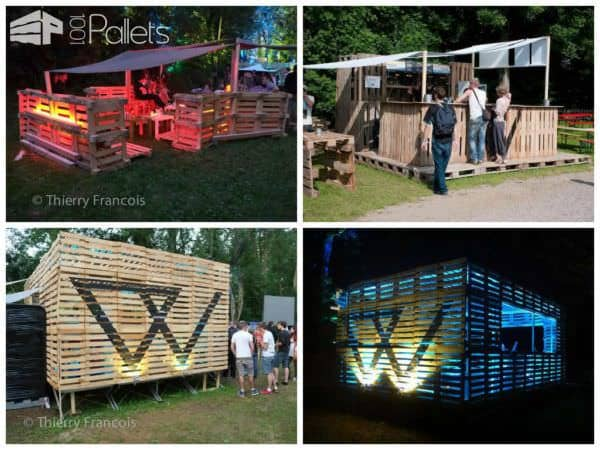 35 Awesome Wooden Pallet Bars6