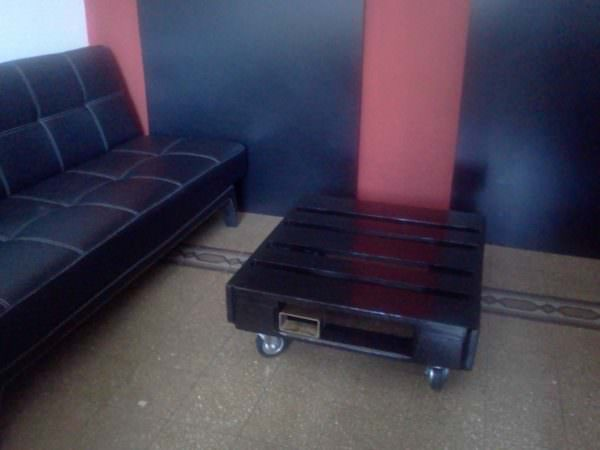 Black Pallet Coffee Table Pallet Coffee Tables