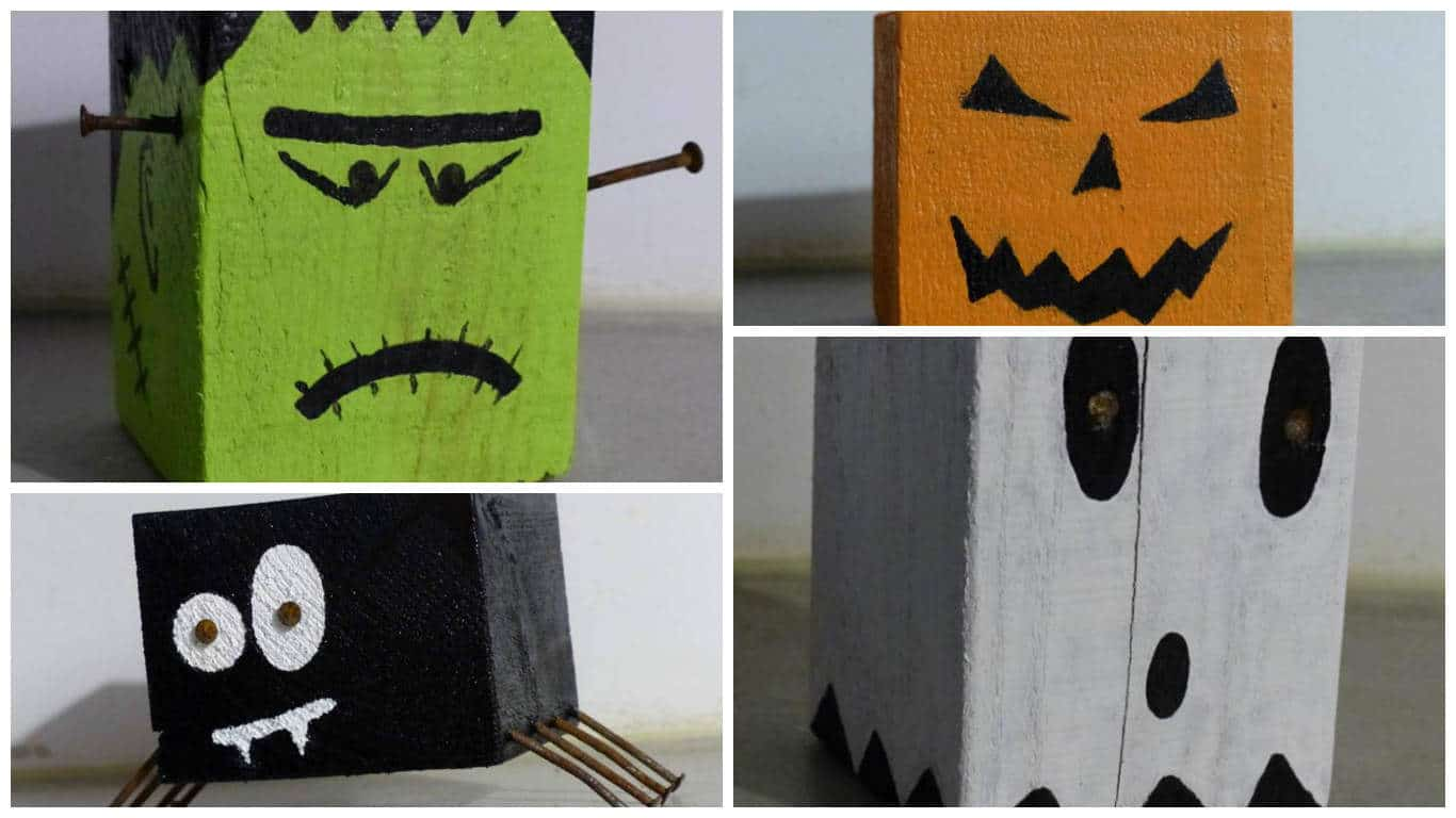 Easy Pallet Crafts For Halloween • Pallet Ideas • 1001 Pallets