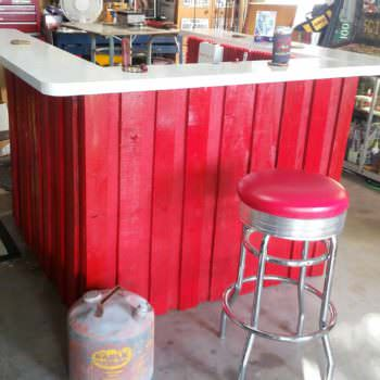 Firefighter/ Rescue Themed BBQ Bar