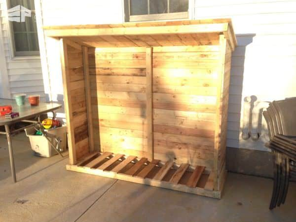 Firewood Shed From Recycled Pallets Pallet Sheds, Pallet Cabins, Pallet Huts & Pallet Playhouses