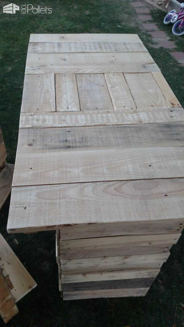 Outdoor Bar & Bar Stools By Rcp DIY Pallet Bars Pallet Benches, Pallet Chairs & Stools