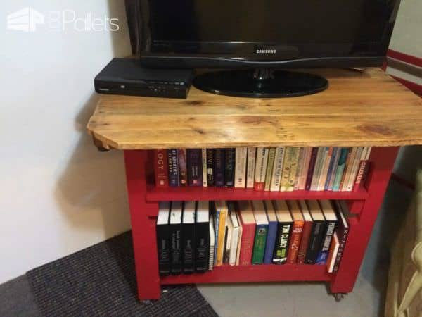 Pallet Bookcase/Table Pallet Bookcases & Bookshelves Pallet Desks & Pallet Tables Pallet Shelves & Pallet Coat Hangers
