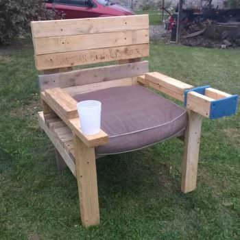 Pallet Captains Chair