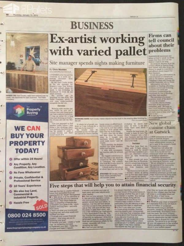 Pallet Crafter Interview #6: Karl Crosby From The Pallet Company Pallet Crafter Interviews