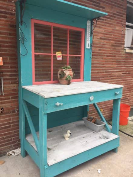 Pallet Potters Bench