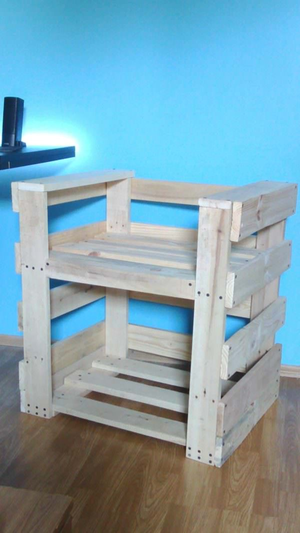 Pallet Sofa/Armchair Pallet Benches, Pallet Chairs & Stools Pallet Sofas & Couches