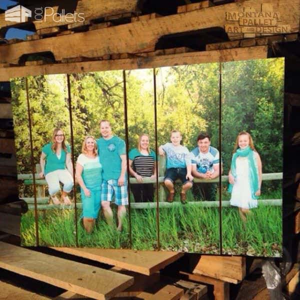 Pallets & Photography Combined Pallet Wall Decor & Pallet Painting