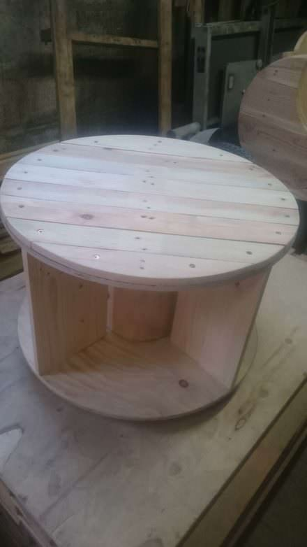 Table Basse à Roulettes / Coffee Table With Wheels