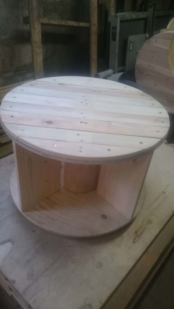 Table Basse à Roulettes / Coffee Table With Wheels Pallet Coffee Tables