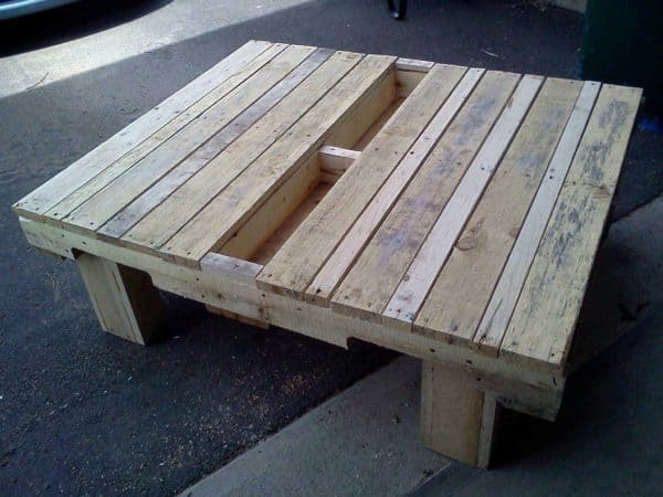 The 55 Most Creative Pallet Coffee Tables For Your Inspiration! Pallet Coffee Tables