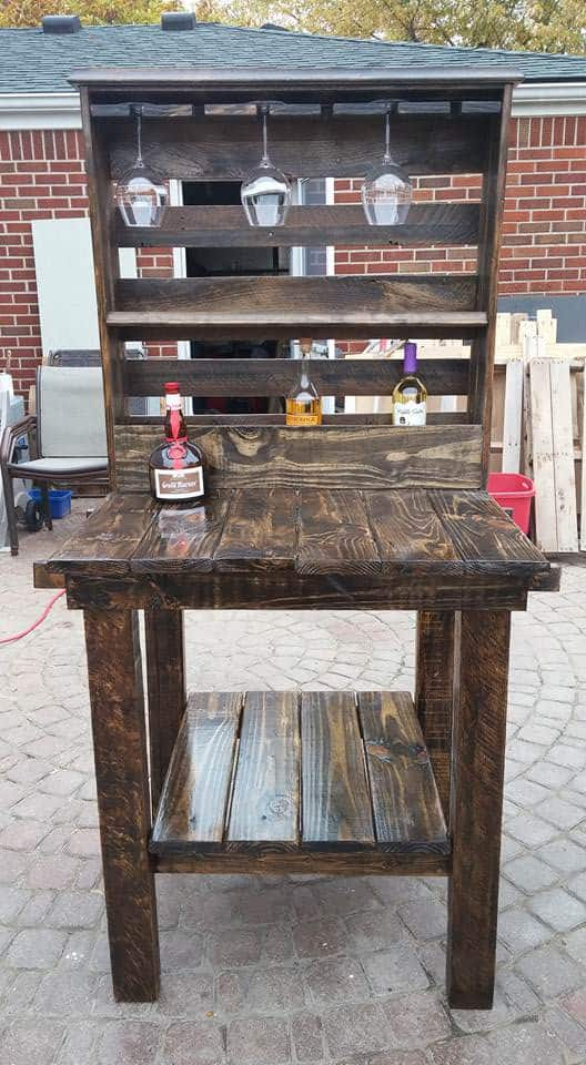 The Pallet Bar Is Open DIY Pallet Bars