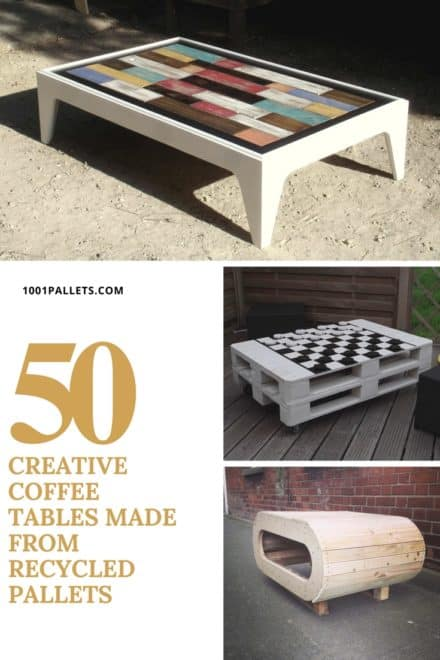 The 50 Most Creative Pallet Coffee Tables For Your Inspiration!