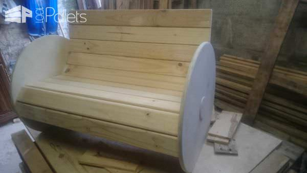 Toddler Bench Pallet Benches, Pallet Chairs & Pallet Stools