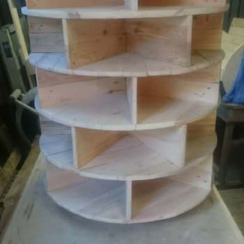 Pallet Shoe Tower