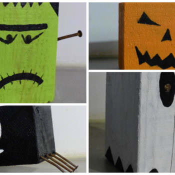 Easy Pallet Crafts For Halloween