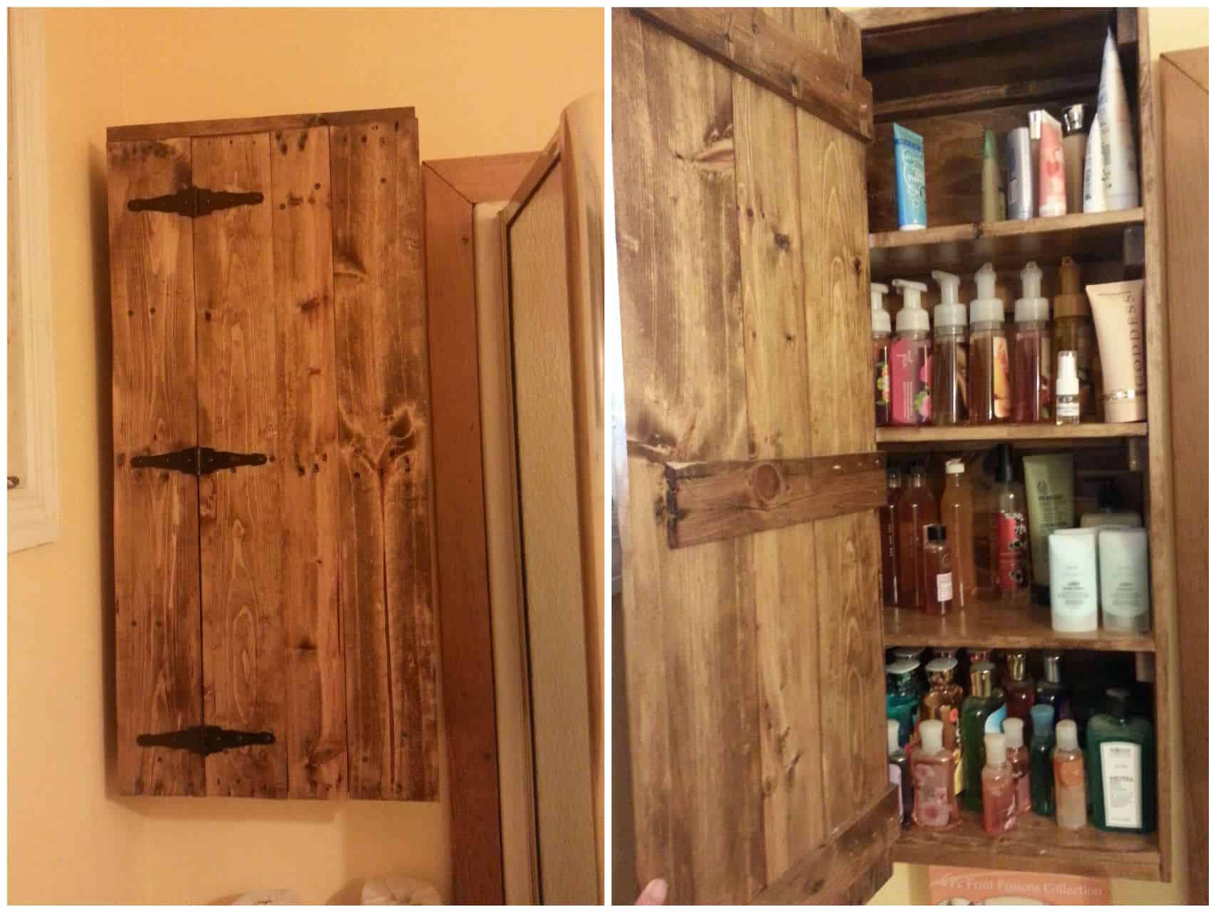 Bathroom Practical Pallet Cabinet Ideas 1001