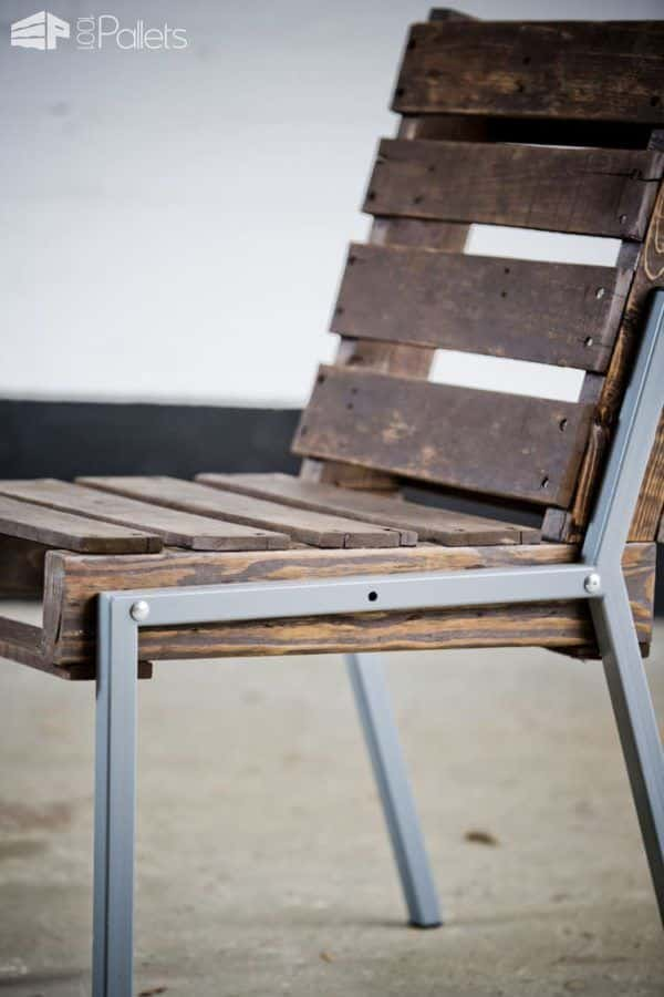 Full Back Pallet Chair 1001 Pallets