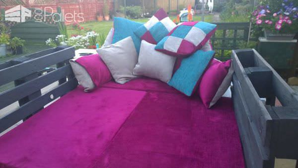 Outside Sofa/Bed & Crate Table Lounges & Garden Sets Pallet Sofas