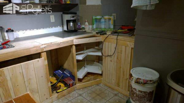 Pallet Kitchen Pallet Desks & Pallet Tables