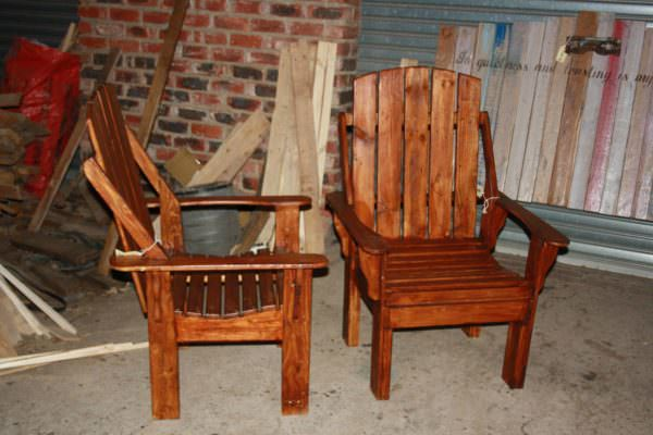 Recliner Pallet Chairs Pallet Benches, Pallet Chairs & Stools