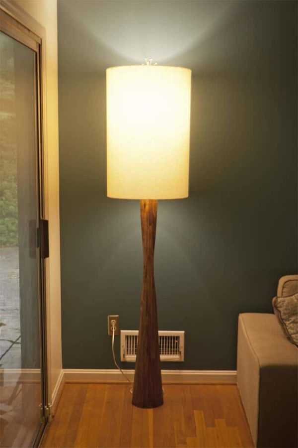 Retro Modern Floor Lamp Pallet Lamps, Pallet Lights & Pallet Lighting