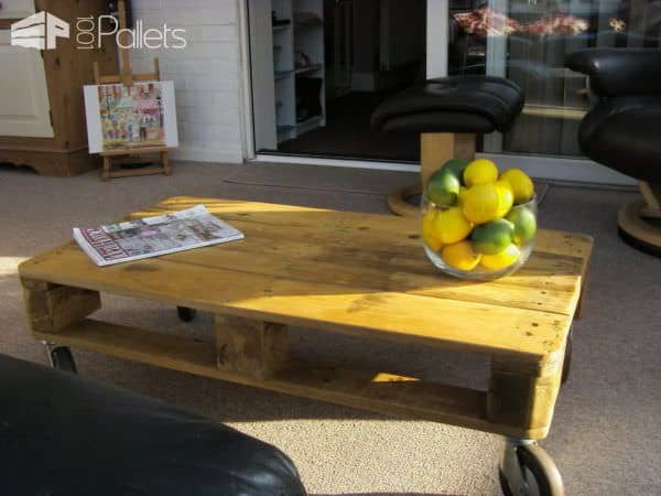 Simple Pallet Coffee Table Pallet Coffee Tables